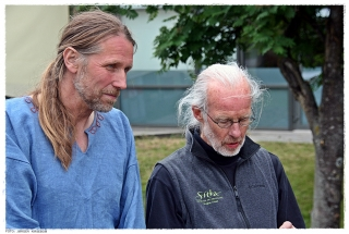 Geir Røvik og Jay Haavik. Foto: Jørgen Kirsebom