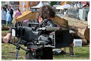 Kameramannen til Bellwether Media. Foto: Jørgen Kirsebom