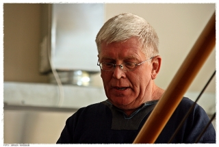 Einar Chr. Erlingsen holder tale under åpningsseremonien. Foto: Jørgen Kirsebom