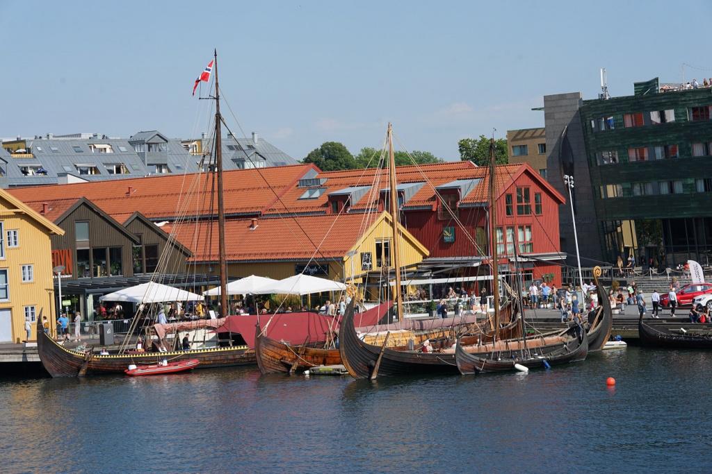 Stemningsbilde fra Tønsberg Vikingfestival 2020
