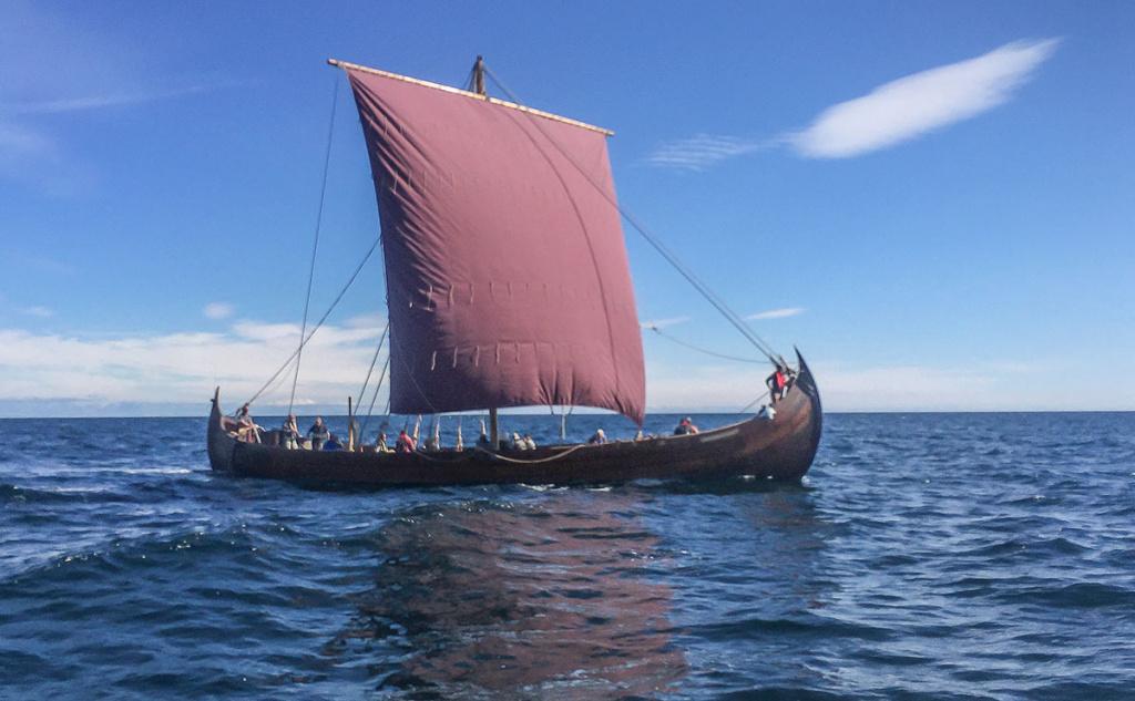 Saga Farmann for fulle seil i 2019. Foto: Knut Børge Knutsen