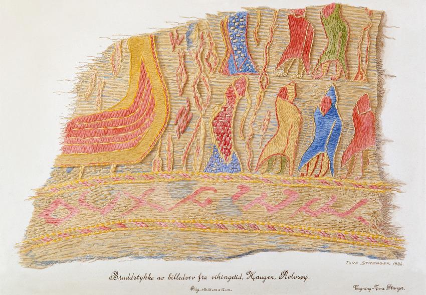 Tekstil fra Tuneskipet